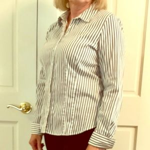 Fitted Striped Shirt